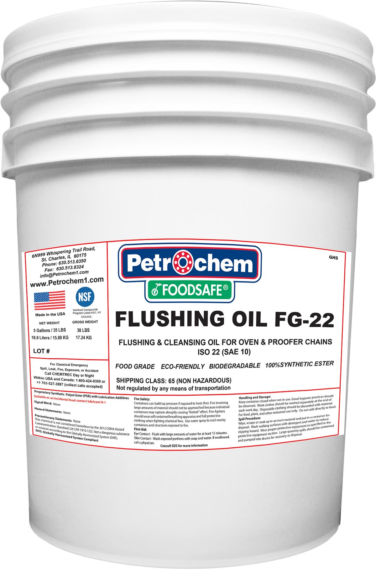 flushing oil FG-22 5gal pail