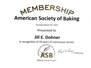 Membership American Society of Baking